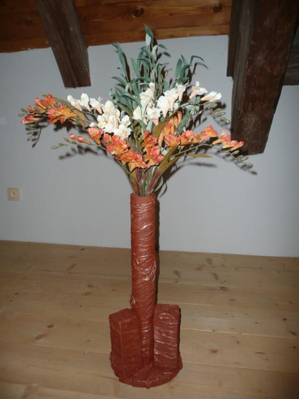 Powertexová váza