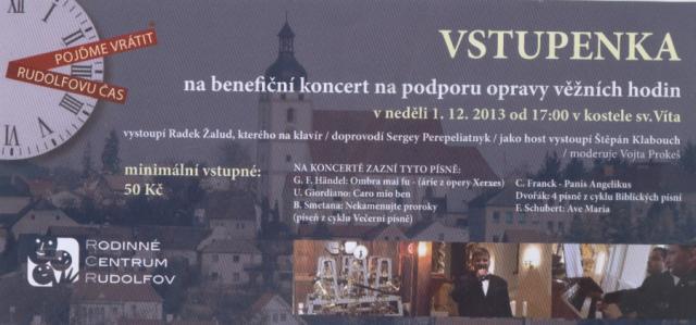 Koncert Rudolfov 2013
