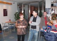 Pepa Balek, dobrá duše našeho sdružení mi výstavu uvedl.